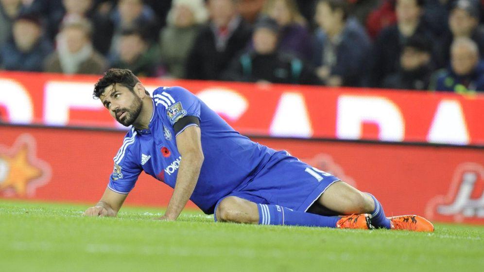 Foto: Diego Costa está viviendo una temporada terrible (EFE).