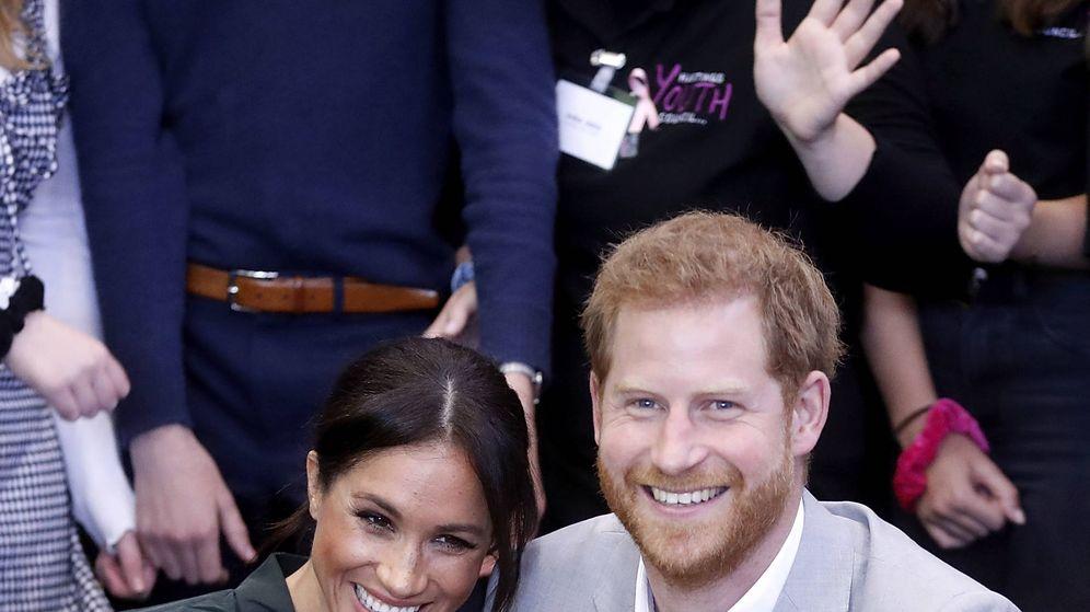 Foto: Los duques durante su reciente visita a Sussex. (Getty)