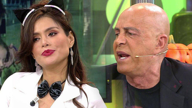 'Sálvame'   Kiko Matamoros estalla contra Miriam Saavedra: Eres boba