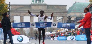 Post de Kipchoge gana el maratón de Berlín, pero se queda a 34'' del récord del mundo