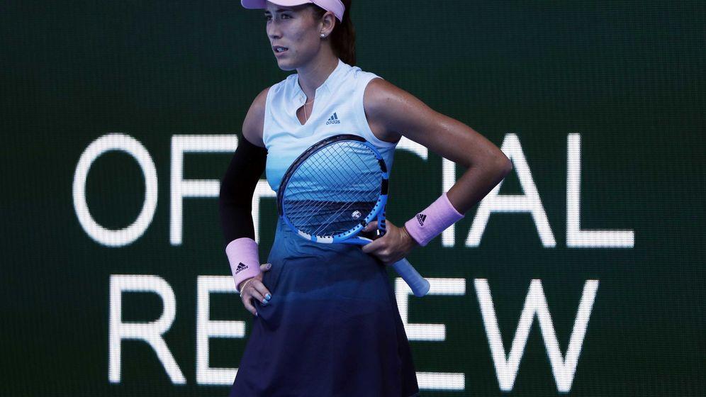 Foto: La tenista española Garbiñe Muguruza. (Reuters)