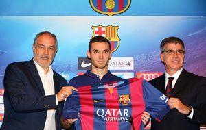 El Barça anuncia que Vermaelen no puede entrenar por estar lesionado