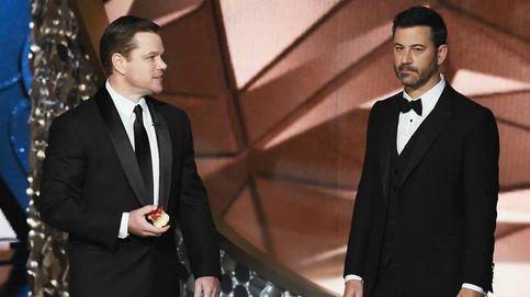 Matt Damon se burla de Jimmy Kimmel en los premios Emmy