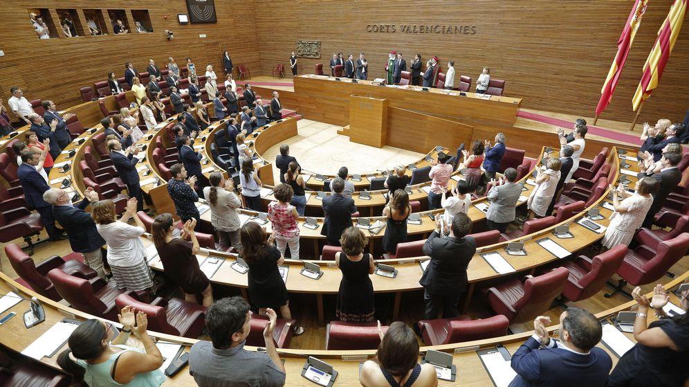Foto: El hemiciclo de las Cortes Valencianas. (EFE)