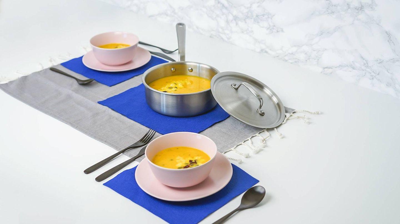 La forma de elaborar la sopa será a partir de ingredientes enteros (Unsplash)