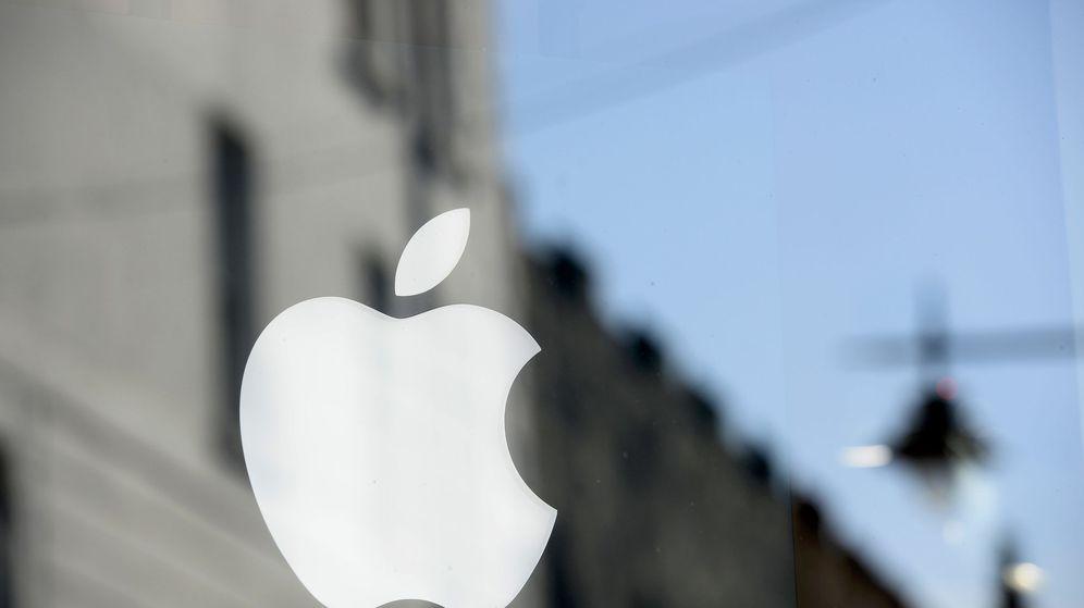 Foto: El logo de Apple luce en una tienda en Galway, Irlanda. (Reuters)