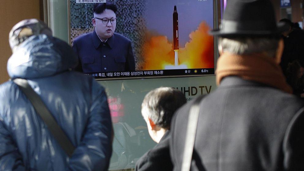 Pyongyang pone a prueba a Trump con el lanzamiento de un misil de medio alcance