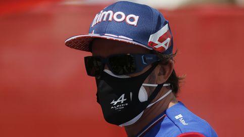 Fernando Alonso o cómo dormir en el circuito y echar de menos la comida de casa