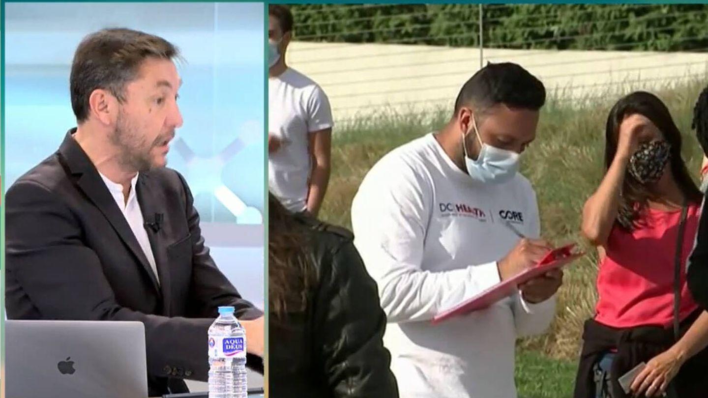 Javier Ruiz, en 'El programa del verano'. (Telecinco)