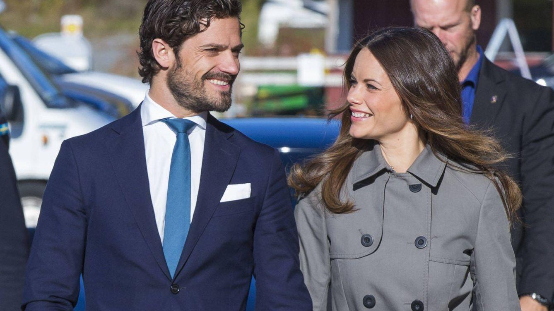 Foto: Carlos Felipe y Sofía Hellqvist en una imagen de archivo (Gtres)