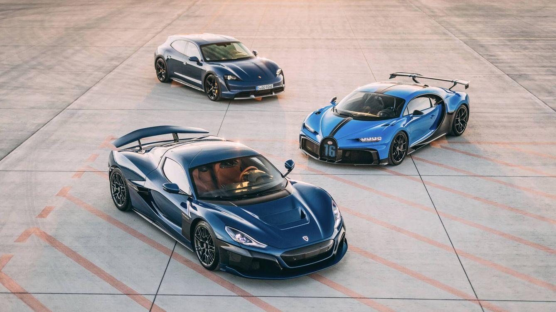 Deportivos eléctricos de ensueño: Rimac, Porsche y Bugatti forman una 'joint venture'
