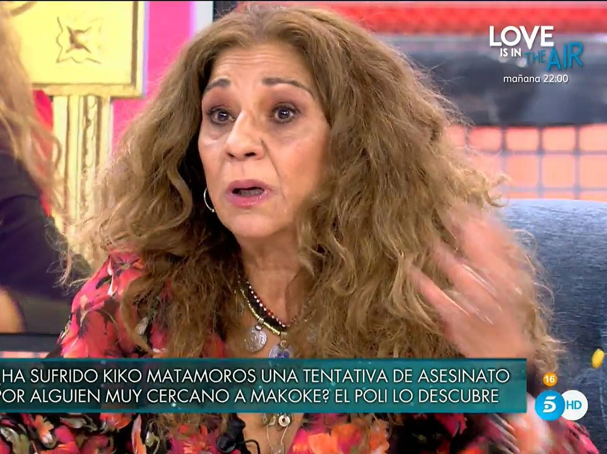 Foto: Lolita Flores, en 'Sábado Deluxe'. (Mediaset España)