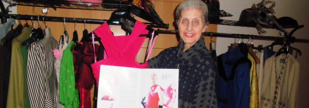 Eloísa Bercero subasta el 'último' vestido del fallecido diseñador Manuel Mota