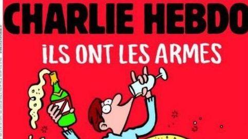 'Charlie Hebdo': Ellos tienen las armas. Que se jodan, nosotros el champán