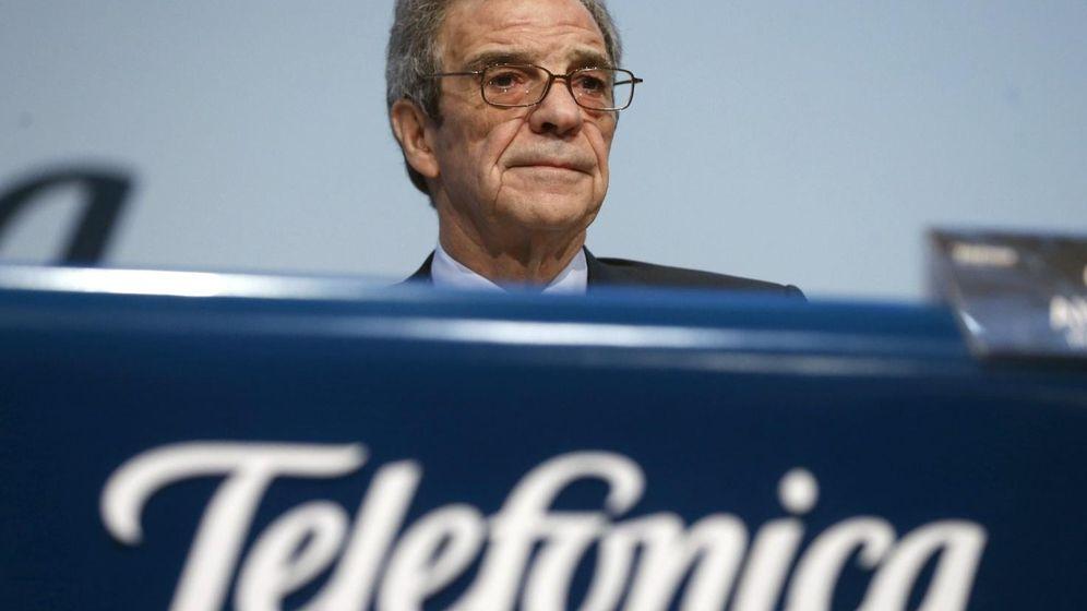 Foto: César Alierta, presidente de Telefónica (Fotografía: Efe).