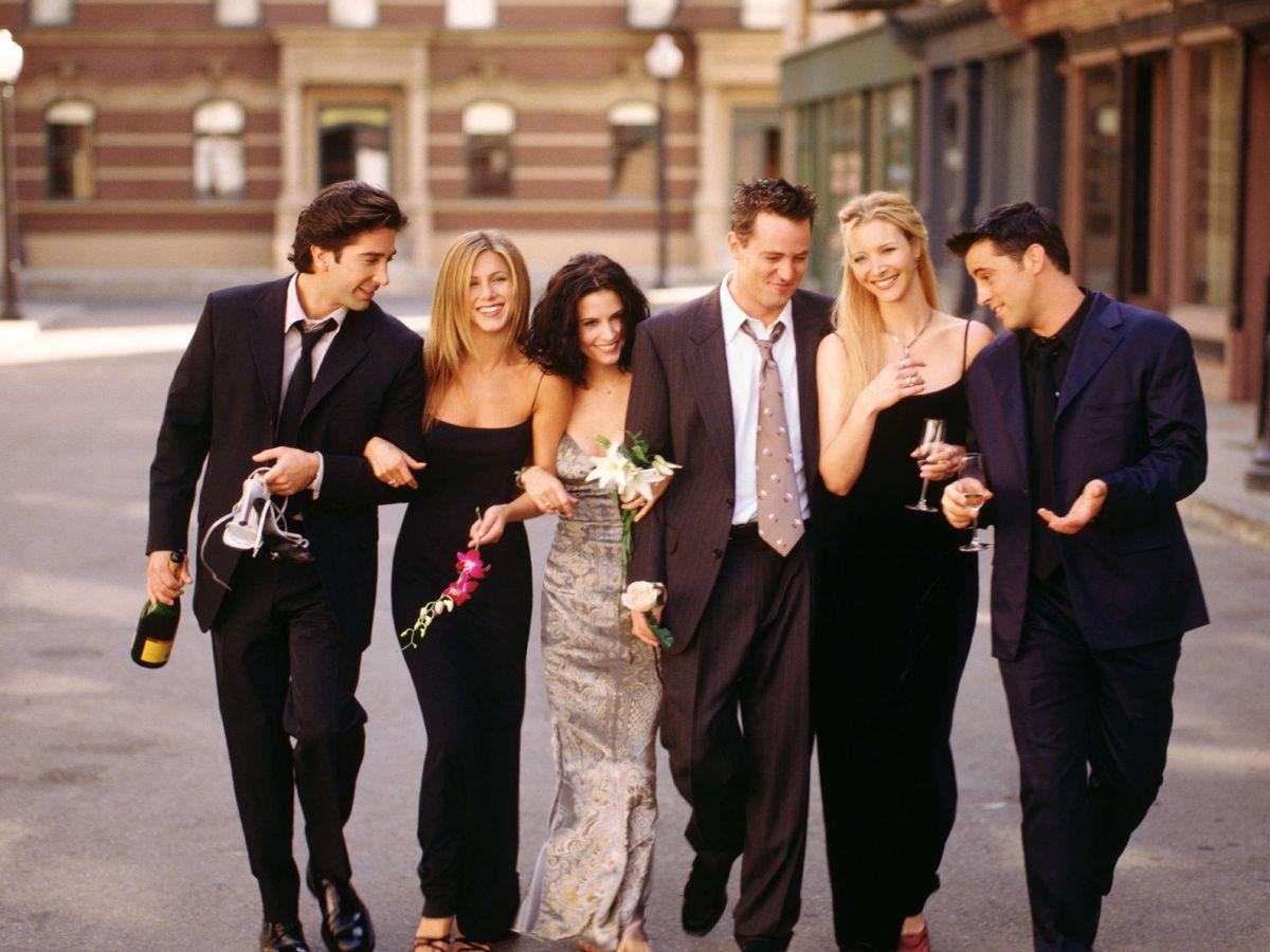 Foto: El elenco de 'Friends', en una imagen de archivo. (Getty)