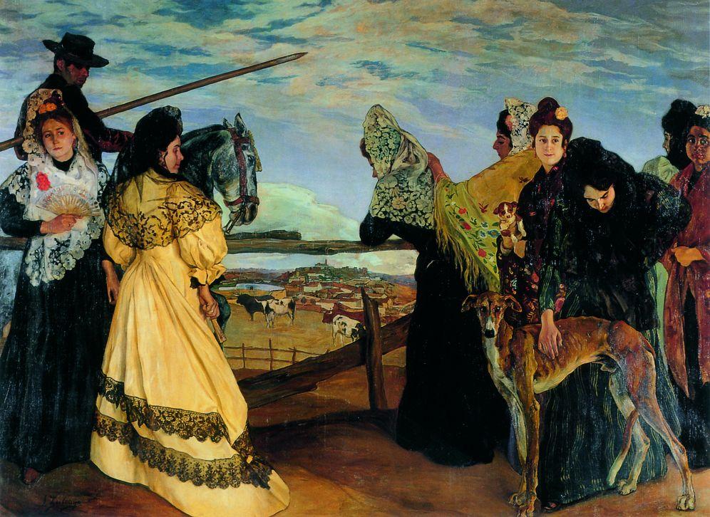 Foto: 'Víspera de la corrida', Ignacio Zuloaga (1898) (Museo de Bellas Artes de Bélgica)