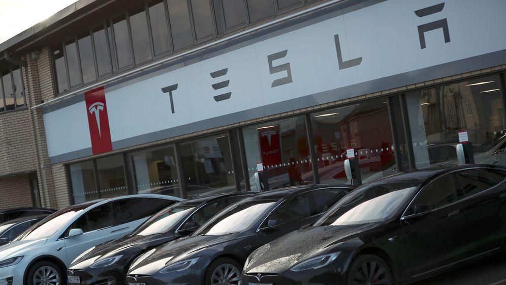 Foto: Concesionario de Tesla. (Reuters)