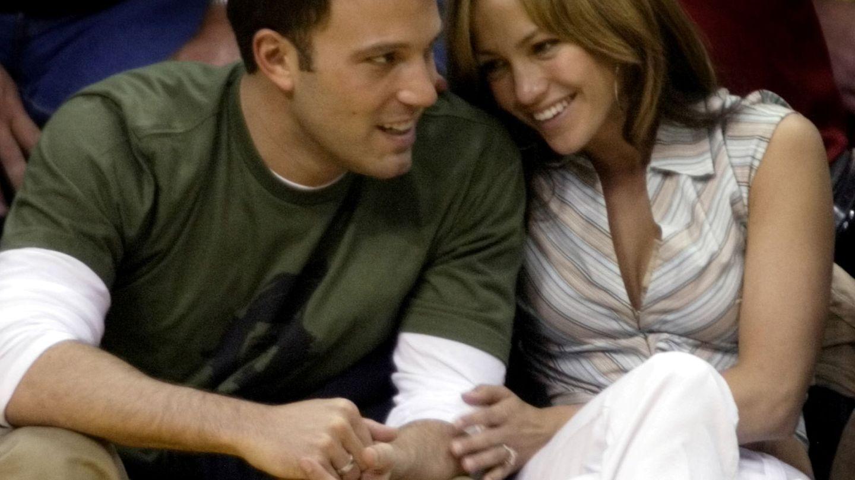 Ben Affleck y Jennifer Lopez, en una imagen de 2003. (Cortesía)