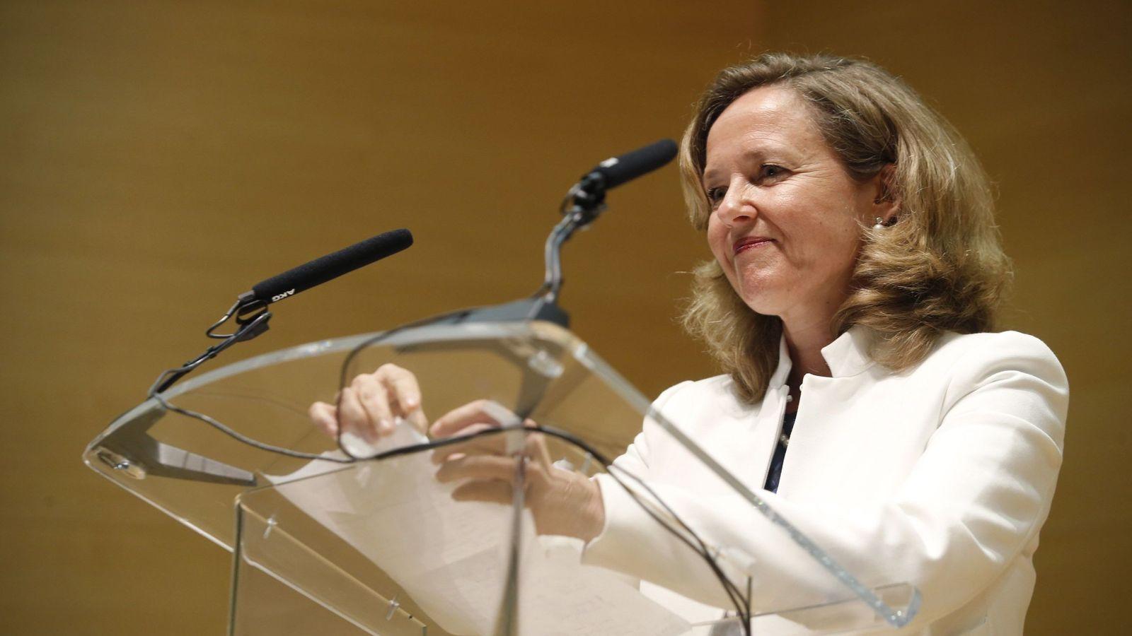 Foto: Nadia Calviño, ministra de Economía. (EFE)
