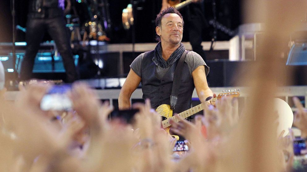 Bruce Springsteen, para servirle a usted y a su familia