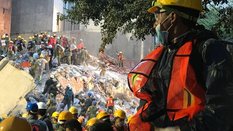 Terremoto en Ciudad de México. (J.B.)
