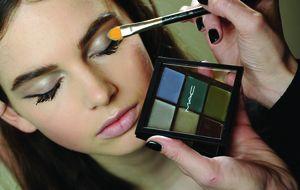 Pinceles para maquillar los ojos