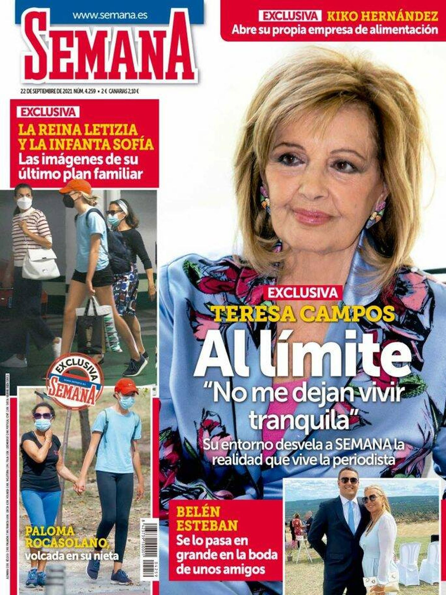 La portada de la revista 'Semana'.