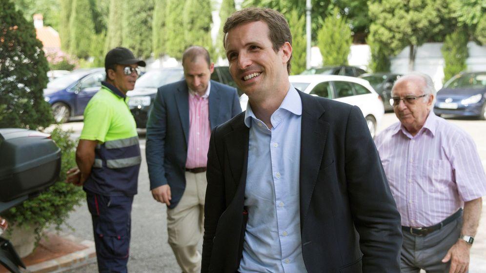 Foto: Pablo casado, nuevo presidente del PP. (EFE)