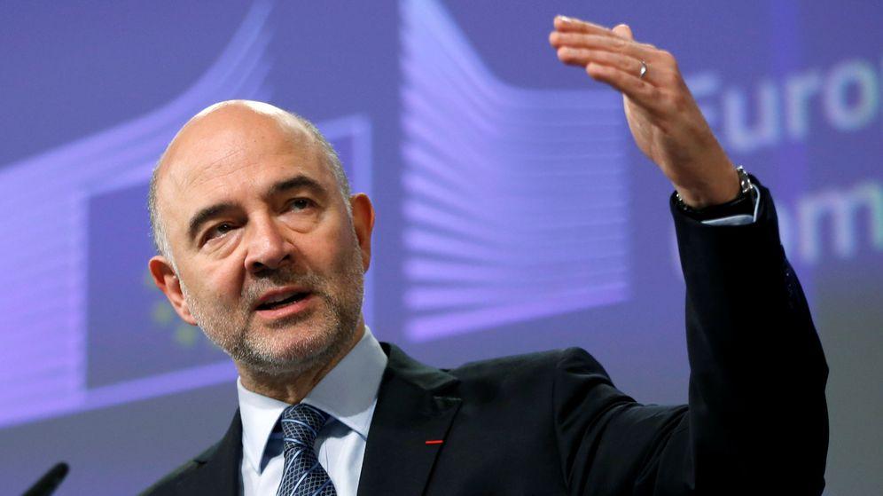 Foto: El comisario europeo de Asuntos Económicos y Financieros, Pierre Moscovici. (Reuters)