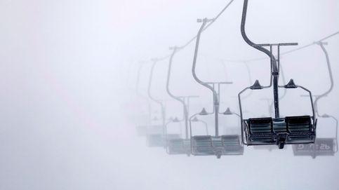 Tormenta de nieve en el monte hermón