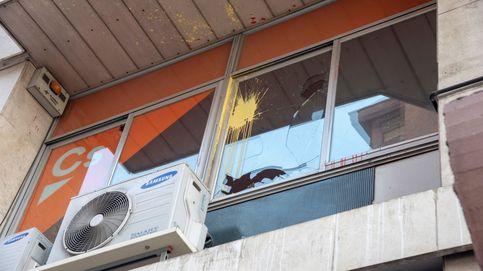 Otro ataque contra la sede de Cs en Lleida: Buscan meter el miedo en el cuerpo