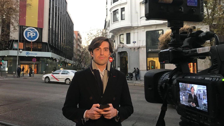 El periodista Pablo Montesinos. (EFE)