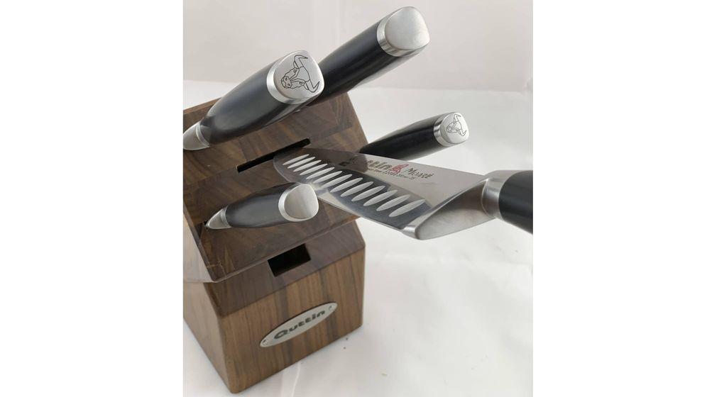 Foto: Los cuchillos de la línea Moaré son perfectos para su uso en la alta cocina, así como en el ámbito doméstico. Diseño y calidad en unos instrumentos que renuevan la forma de cocinar.