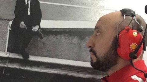 La frialdad de Raikkonen con Francesco Cigarini, el mecánico herido de Ferrari