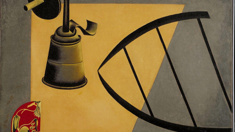 'La lámpara de carburo', 1922-1923. (Museum of Modern Art)