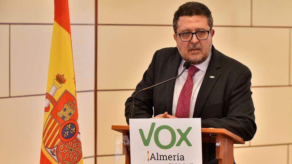 Foto: El portavoz del Grupo parlamentario de Vox en Andalucía, Francisco Serrano (EFE)