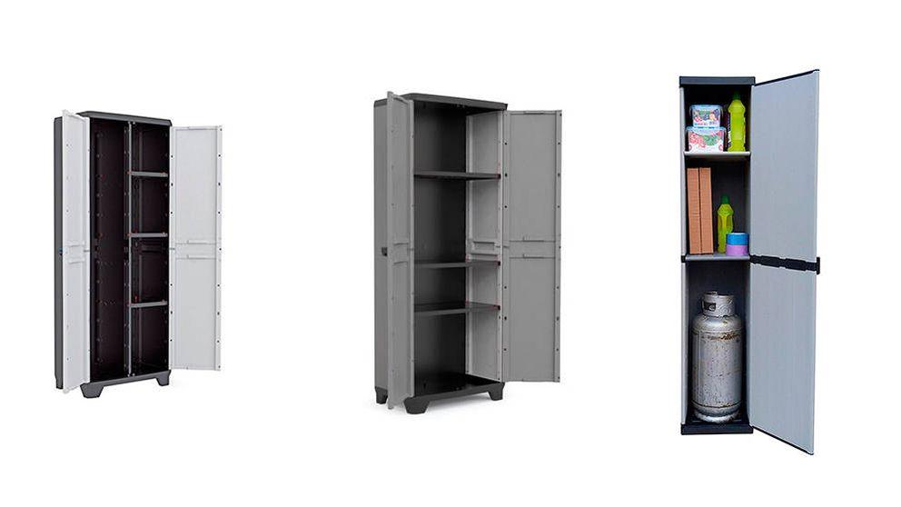 Los mejores armarios escoberos para tener ordenados tus artículos de limpieza