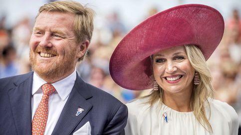 Máxima de Holanda, espectacular en su vuelta al trabajo con la reina Matilde