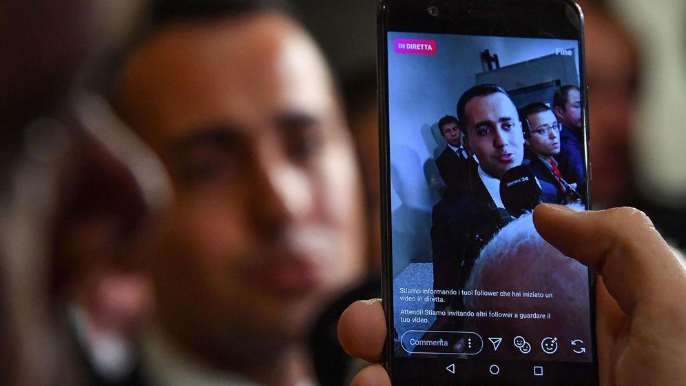 Foto: Di Maio, líder del M5S, ha dejado claro que no piensan retroceder, como le piden sus socios. (Reuters)