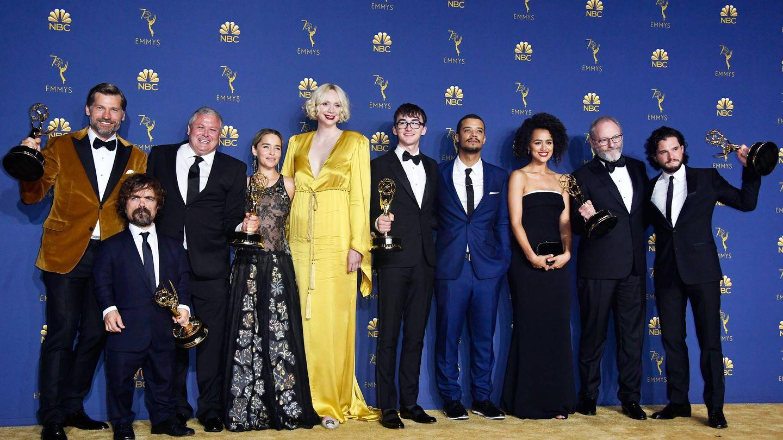 El reparto de la serie, en los últimos Emmy. (Getty)