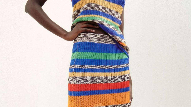 El dos piezas de top y falda más colorido y cool está en Zara