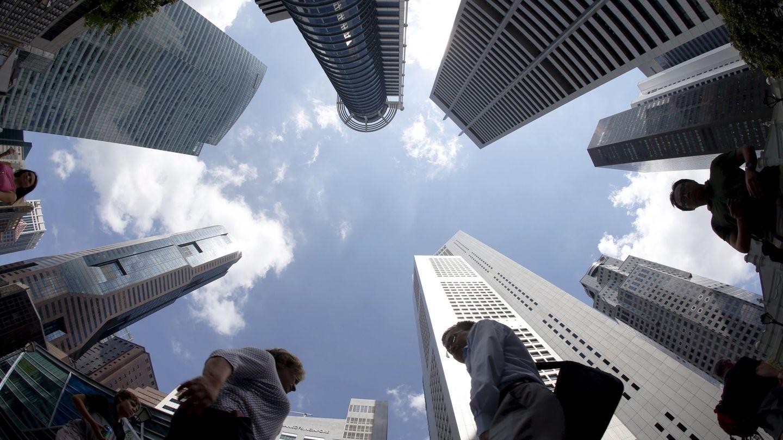 El centro financiero de Singapur. (Reuters)