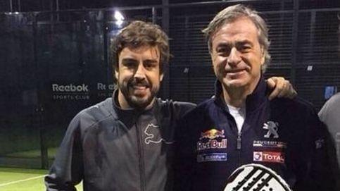 Los platillos en movimiento de Fernando Alonso... ¿al Dakar con Carlos Sainz?