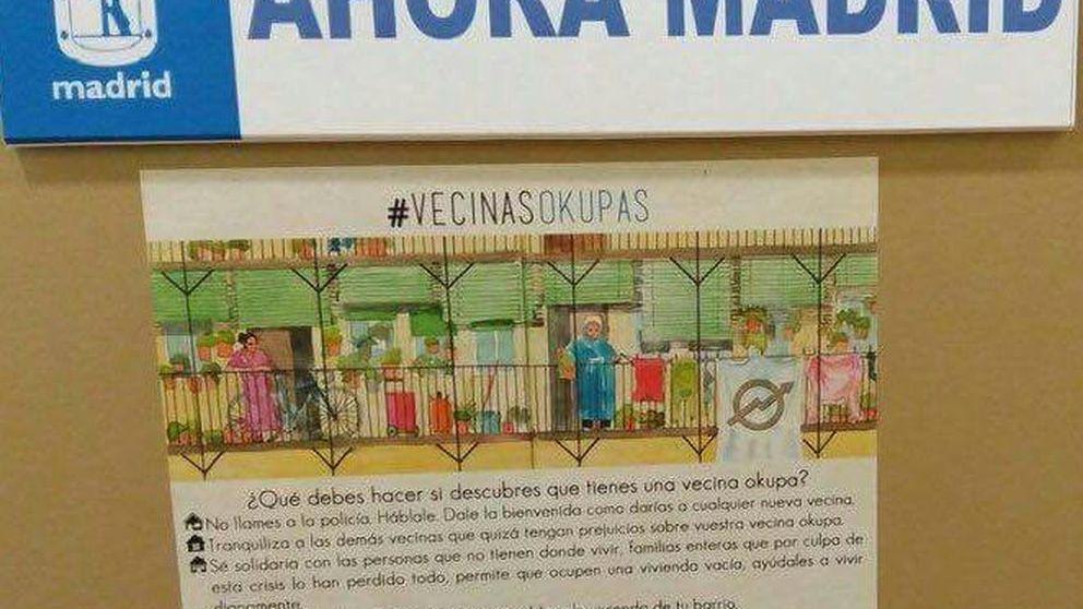 Carmena pide a los vecinos que no llamen a la Policía si detectan un okupa