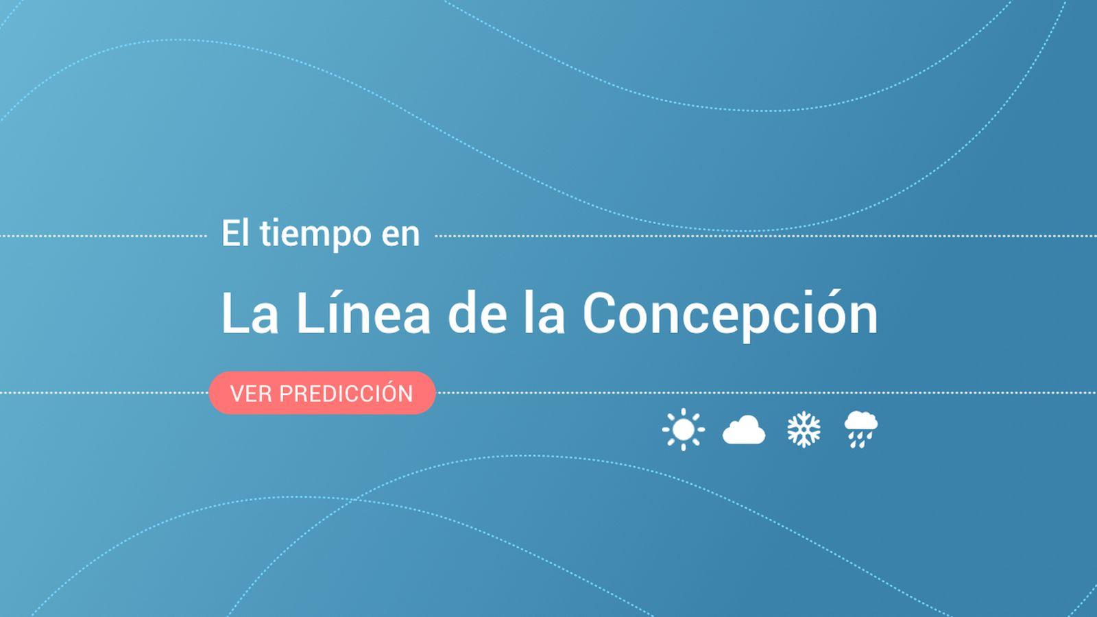 Foto: El tiempo en La Línea de la Concepción. (EC)