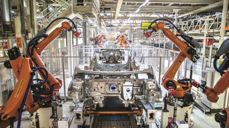Foto: Imagen de la fábrica de Seat en Martorell. (Efe)