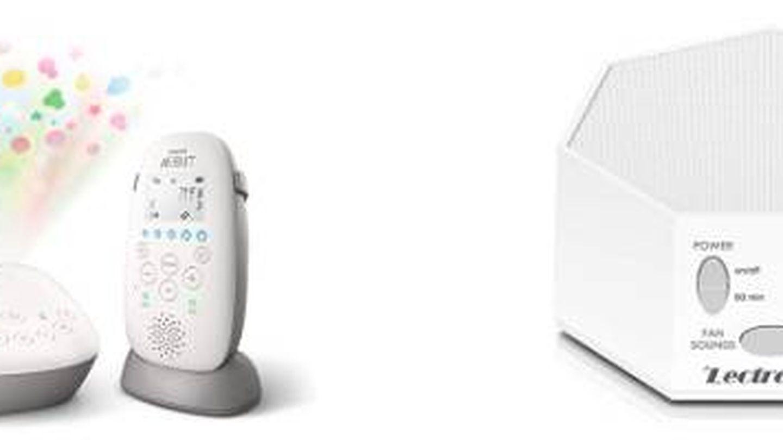 Monitor y máquina de ruido. (Cortesía)
