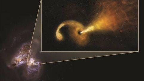 Captan por primera vez la brutal erupción de un agujero negro al destruir una estrella