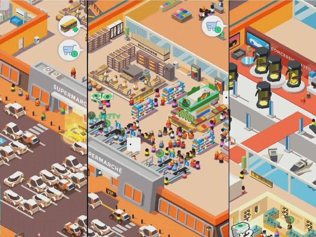 Foto: Codigames es uno de los grandes 'hits' de Lanzadera. En la imagen, Idle Supermarket Tycoon. (Codigames)